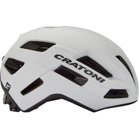 Cratoni Speedfighter Performance Casque, white matte